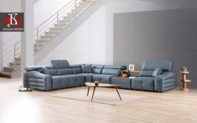 Как да създадете интериорен комфорт в дневната ако не с помощта на ъглов диван?