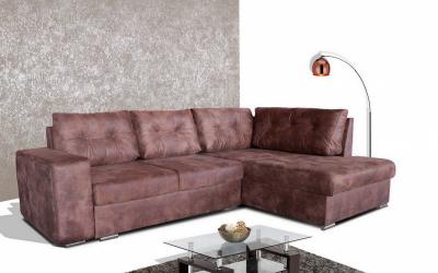Стилен и елегантен хол с помощта на ъгловия диван